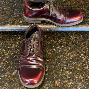 Rockport Editorial Office Cap Toe Oxfords 9.5